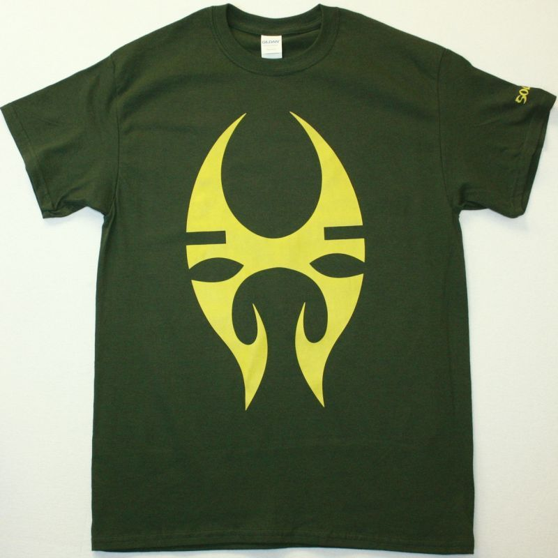 SOULFLY LOGO NEW FOREST GREEN T-SHIRT