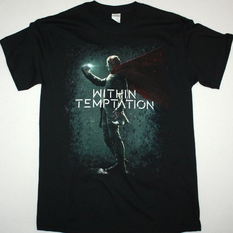 WITHIN TEMPTATION RESIST NEW BLACK T-SHIRT