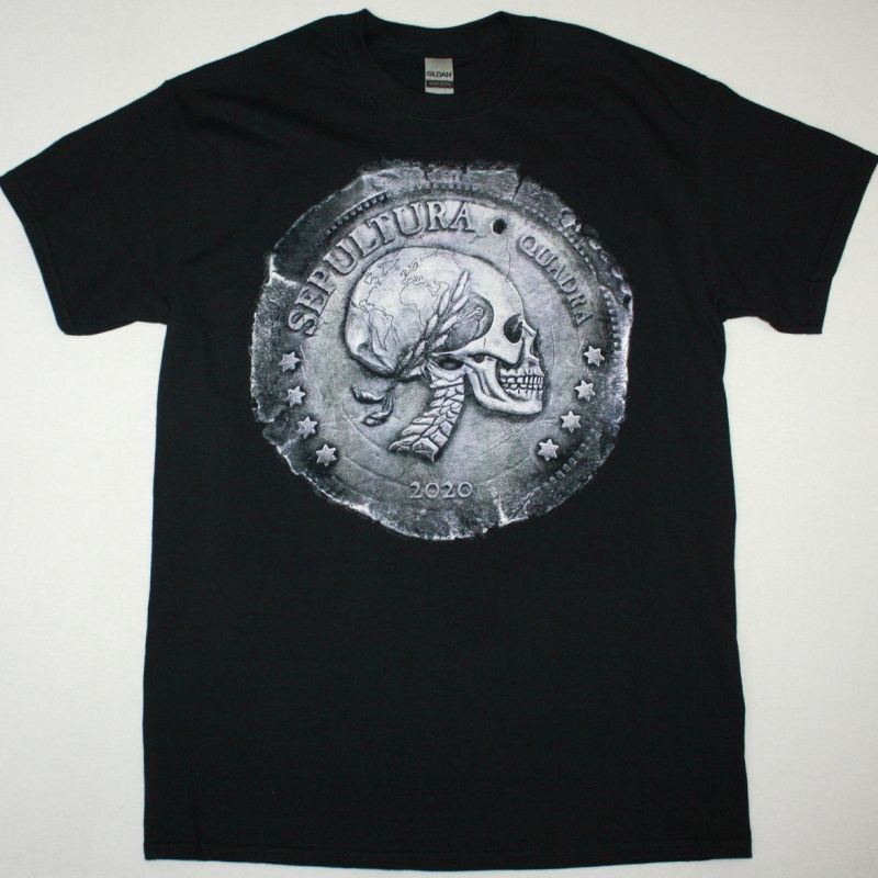 SEPULTURA QUADRA NEW BLACK T SHIRT