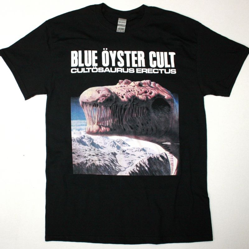 BLUE ÖYSTER CULT CULTOSAURUS ERECTUS NEW BLACK T SHIRT