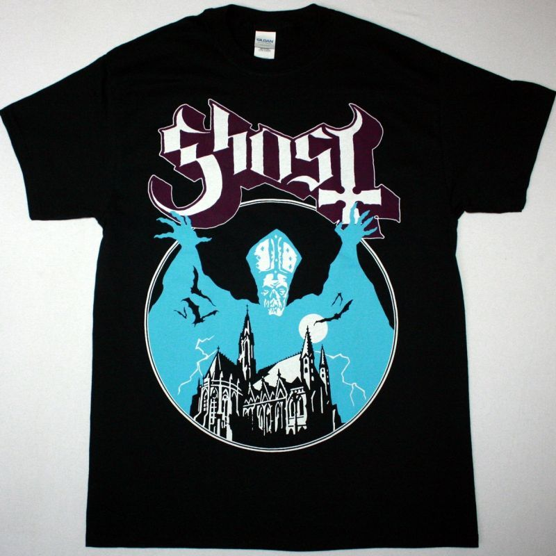 GHOST OPUS EPONYMOUS NEW BLACK T-SHIRT