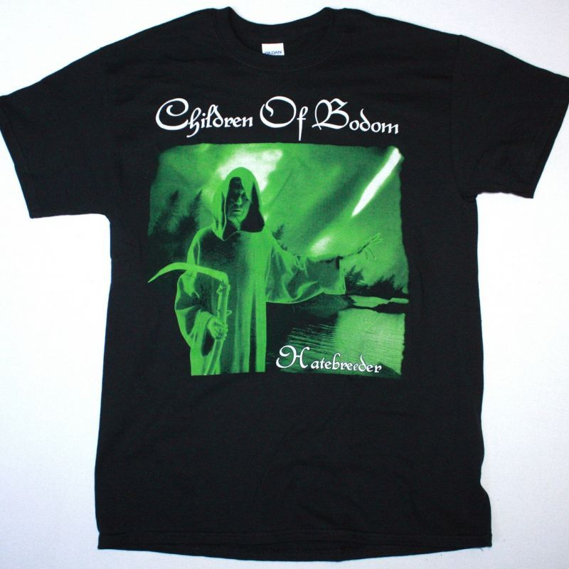 CHILDREN OF BODOM HATEBREEDER NEW BLACK T-SHIRT
