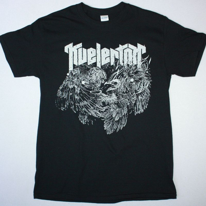 KVELERTAK OWL FIGHT NEW BLACK T-SHIRT