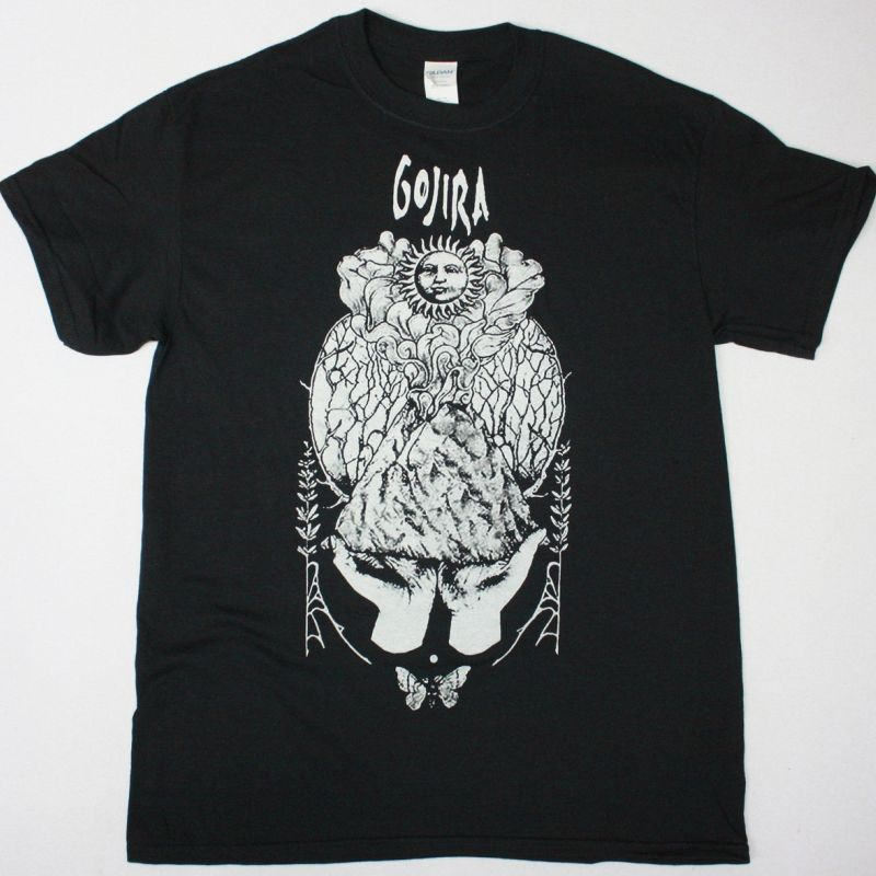 GOJIRA MAGMA WOODS NEW BLACK T SHIRT