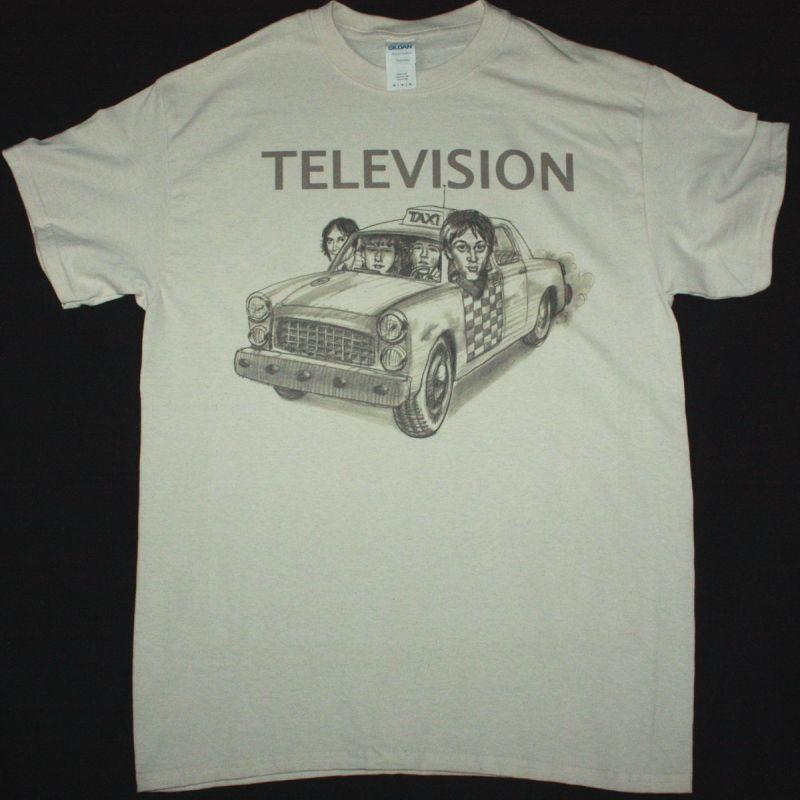 TELEVISION TAXI NEW NATURAL T-SHIRT