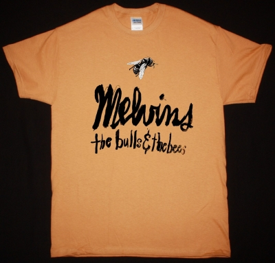 MELVINS THE BULLS & THE BEES NEW CAMEL COLOR T-SHIRT