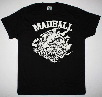 MADBALL LOGO NEW BLACK T-SHIRT