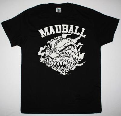 MADBALL LOGO NEW BLACK T-SHIRT