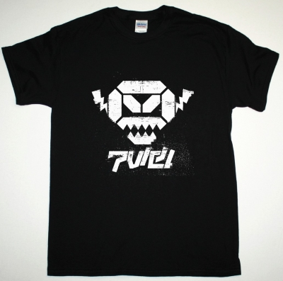 POP WILL EAT ITSELF ANGRY ROBOT NEW BLACK T SHIRT