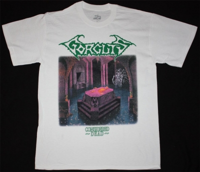 GORGUTS CONSIDERED DEATH NEW WHITE T-SHIRT