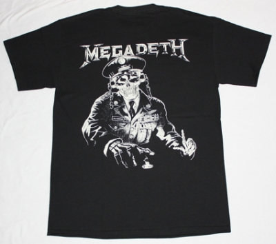 MEGADETH HOLY WARS '91 NEW BLACK T-SHIRT