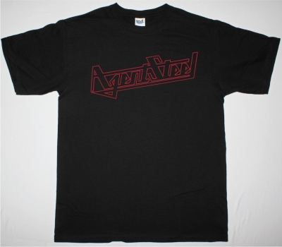 AGENT STEEL LOGO NEW BLACK T SHIRT