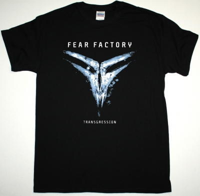 FEAR FACTORY TRANSGRESSION NEW BLACK T-SHIRT