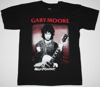 GARY MOORE WILD FRONTIER'87 NEW BLACK T-SHIRT