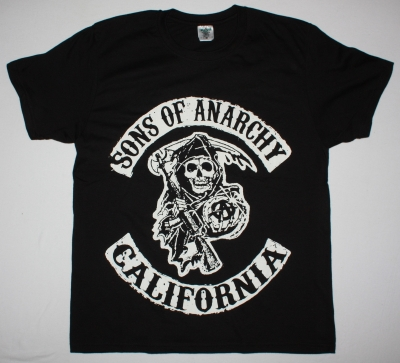 SONS OF ANARCHY NEW BLACK TSHIRT