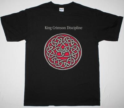 KING CRIMSON DISCIPLINE NEW BLACK T-SHIRT