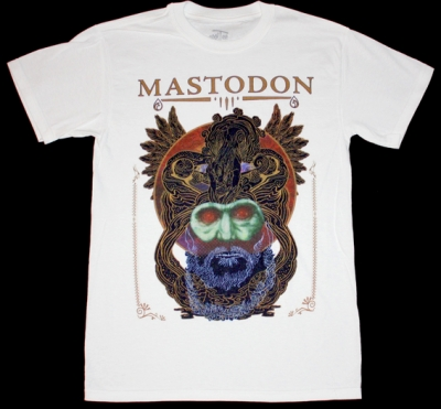MASTODON CRACK THE SKYE NEW WHITE T-SHIRT