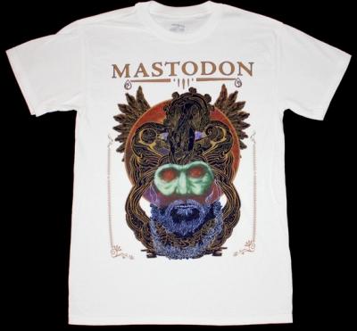 MASTODON CRACK THE SKYE NEW WHITE T-SHIRT
