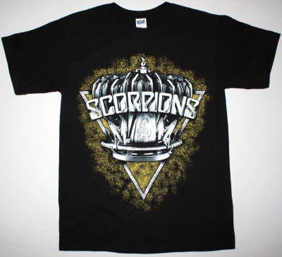 SCORPIONS RETURN TO FOREVER 2015 NEW BLACK T-SHIRT
