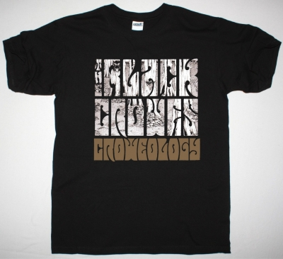 THE BLACK CROWES CROWEOLOGY 2 NEW BLACK T-SHIRT