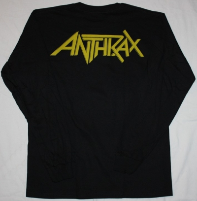 ANTHRAX AMONG THE LIVING'87 NEW BLACK LONG SLEEVE T-SHIRT