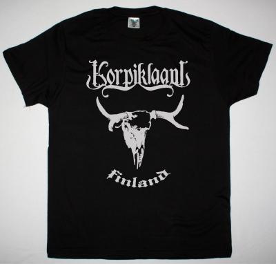 KORPIKLAANI FINLAND NEW BLACK T-SHIRT