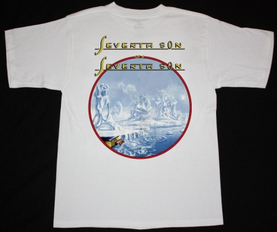 IRON MAIDEN SEVENTH SON OF THE SEVENTH SON'88 NEW WHITE T-SHIRT
