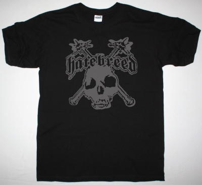 HATEBREED SKULL LOGO NEW BLACK T-SHIRT