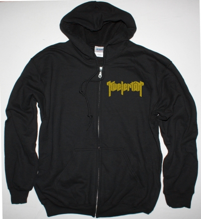 KVELERTAK LOGO NEW BLACK ZIPPED HOODIE