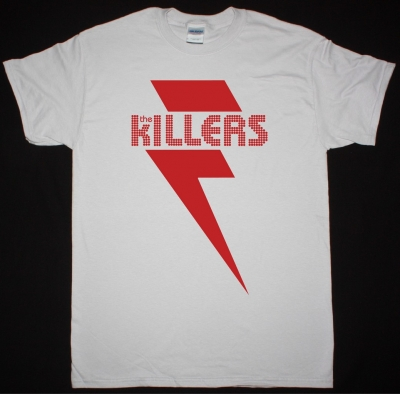 THE KILLERS RED BOLT NEW ICE GREY T SHIRT