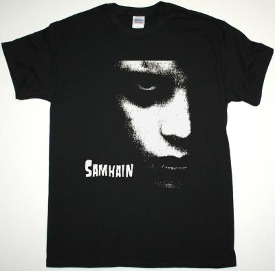 SAMHAIN GLENN DANZIG NEW BLACK T SHIRT