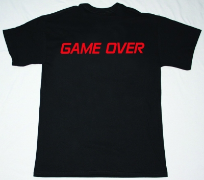 NUCLEAR ASSAULT GAME OVER '86  NEW BLACK T-SHIRT