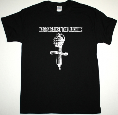 RAGE AGAINST THE MACHINE BULLS ON PARADE NEW BLACK T-SHIRT