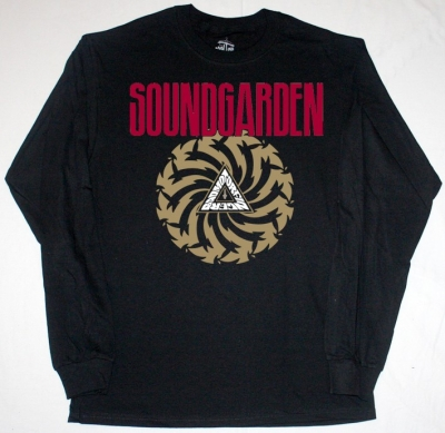 SOUNDGARDEN BADMOTORFINGER'92 NEW BLACK LONG SLEEVE T-SHIRT