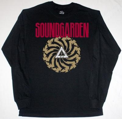 SOUNDGARDEN BADMOTORFINGER'92 NEW BLACK LONG SLEEVE T-SHIRT