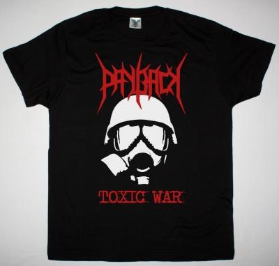 PAYBACK TOXIC WAR 2012 THRASH NEW BLACK T SHIRT