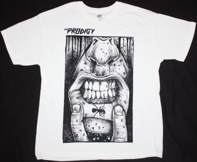 THE PRODIGY FAT LIP  NEW WHITE T-SHIRT