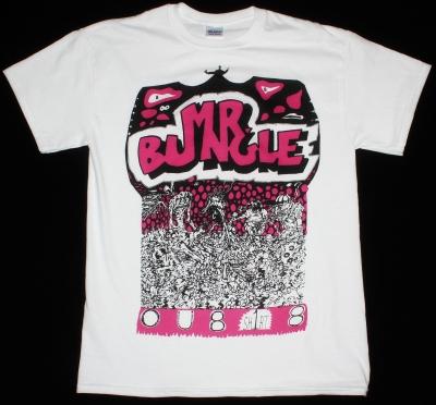 MR BUNGLE OU818 NEW WHITE T-SHIRT