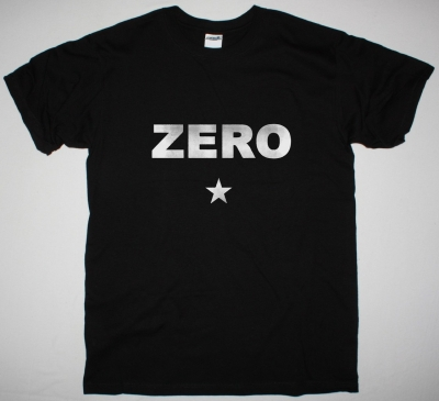 THE SMASHING PUMPKINS ZERO NEW BLACK T-SHIRT