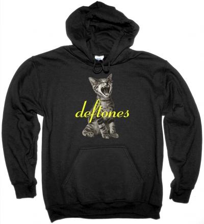 DEFTONES ADRENALINE NEW BLACK HOODIE