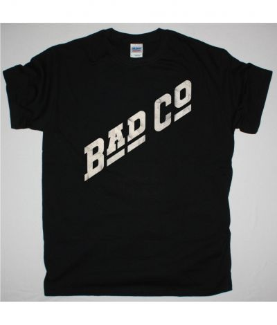 BAD COMPANY LOGO NEW BLACK T SHIRT