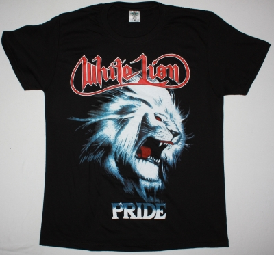 WHITE LION PRIDE ROCK N ROAR TOUR 88 NEW BLACK TSHIRT