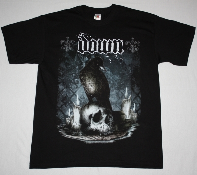 DOWN DIARY OF A MAD BAND NEW BLACK T-SHIRT
