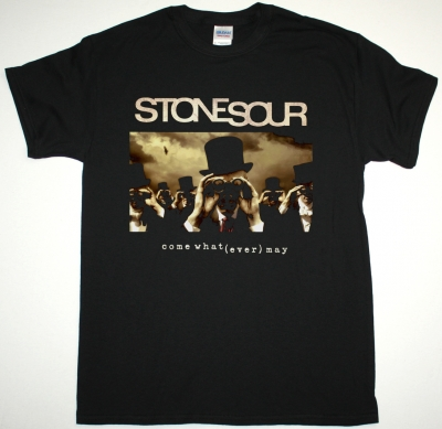 STONE SOUR COME WHAT (EVER) MAY NEW BLACK T-SHIRT