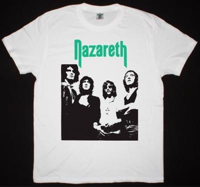 NAZARETH 1971 BAND NEW WHITE T SHIRT