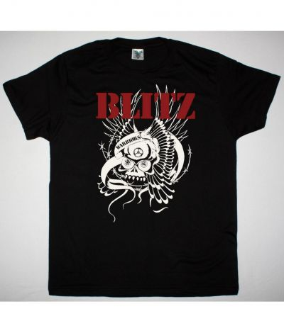 BLITZ WARRIORS NEW BLACK T SHIRT