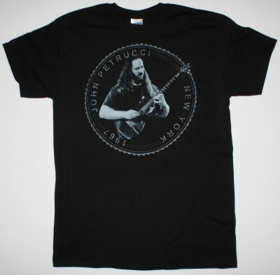 JOHN PETRUCCI LIVE NEW YORK NEW BLACK T-SHIRT