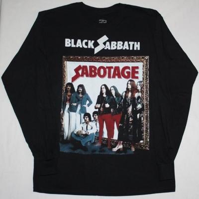 BLACK SABBATH SABOTAGE LONG SLEEVE T-SHIRT