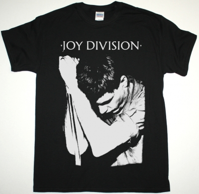 JOY DIVISION IAN CURTIS NEW BLACK T-SHIRT
