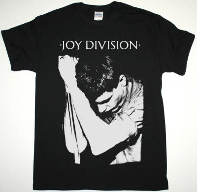 JOY DIVISION IAN CURTIS NEW BLACK T-SHIRT